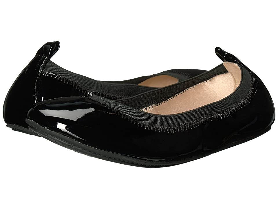 Yosi Samra Kids Miss Samara Patent Ballet Flat (Toddler/Little Kid/Big Kid) (Black Patent) Girls Shoes