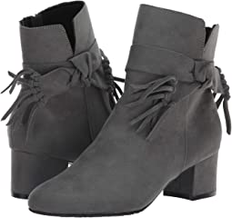Dark Grey Faux Suede