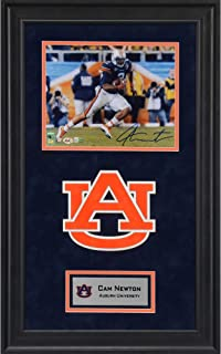 Cam Newton Auburn Tigers Deluxe Framed Autographed 8