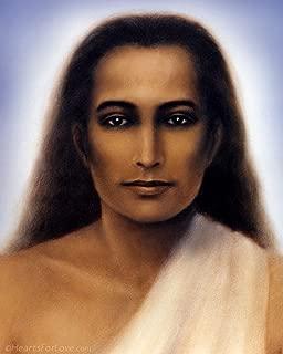 Hearts for Love/Nick Hodgson Mahavatar Babaji Portrait, Meditation Master from Yogananda's Autobiography of a Yogi (8x10)