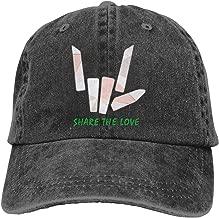 Unisex Baseball Cap Gold Coins Amazing Share The Love Cotton Denim Trucker Hat Adjustable Retro Sports Caps