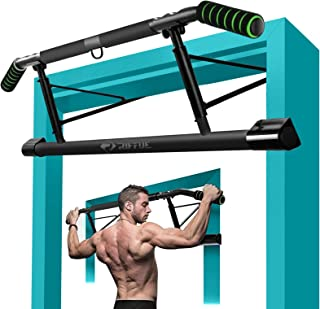 Pull-up bar rod pull-ups for home multipurpose stretching rod clamp rod and level pull-up bar wall door bar pull-up bar 62-135 cm retractable door frame pull up bar