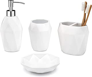 Essentra Home Modern White Collection