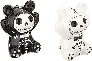 Furrybones Black and White Panda Bear Pandie Ceramic Salt N Pepper Shaker