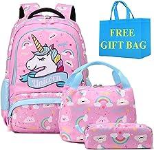 Mochilas Niñas Escolares Primaria Mochila Infantiles Unicornio Bolsas Escolares para Niña Mochilas Chicas para Escuela Viaje