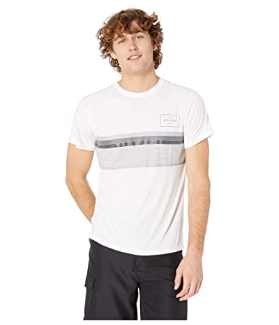 Rip Curl Rapture Surflite UV Tee (White) Men