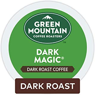 Green Mountain Coffee Roaster Dark Magic Keurig Single-Serve K-Cup Pods, Dark Roast Coffee, 32 Count