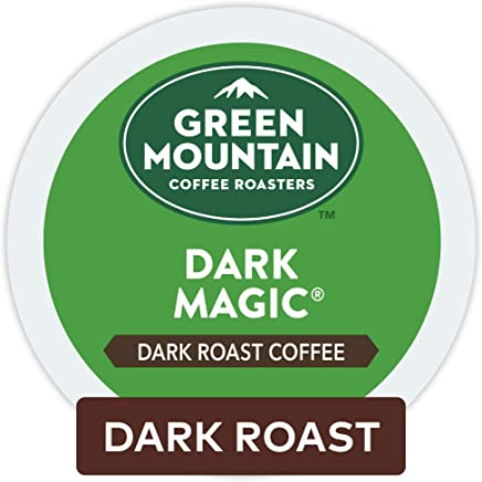 Green Mountain Coffee Dark Magic, Keurig Single-Serve K-Cup Pods, Dark Roast Coffee, 96 Count