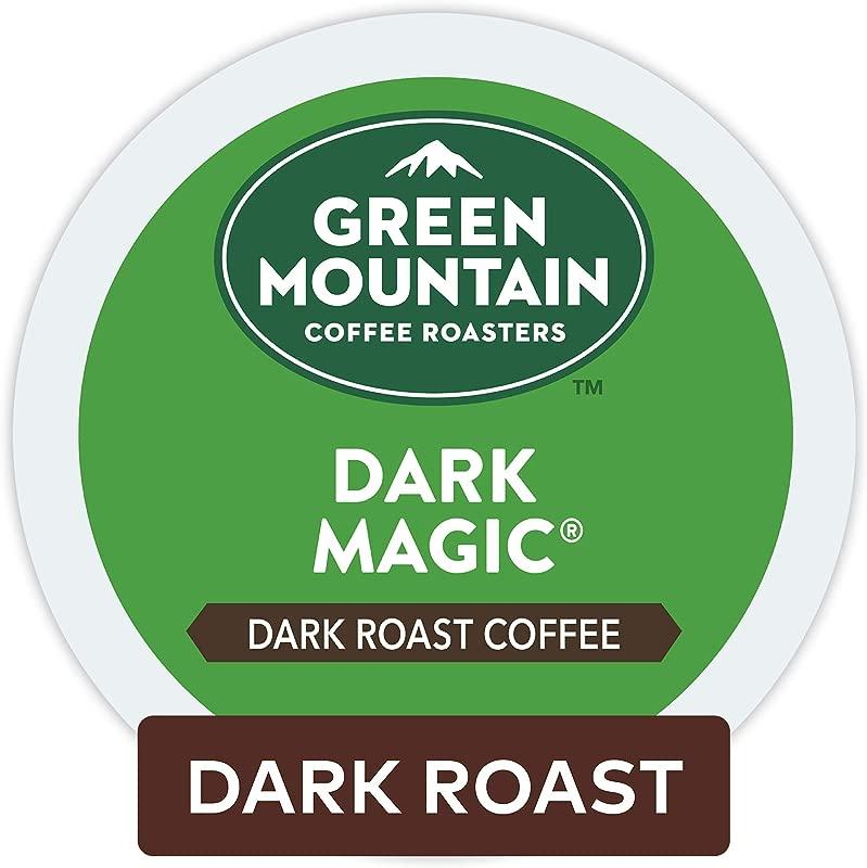 Green Mountain Coffee Roasters Dark Magic Single Serve Coffee K Cup Pod Dark Roast 32