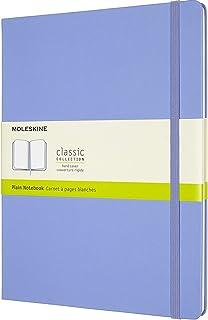 Moleskine - Cuaderno Clásico con Hojas en Blanco, Tapa Dura y Cierre con Goma Elástica, Tamaño...