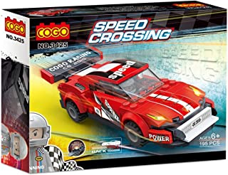 195 pieces Racer Series block set Speed Crossing