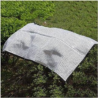 MAHFEI Shading Net Aluminum Foil Reflective Insulation Lower The Temperature Breathable UV Blocking Metal Hole Gardening P...