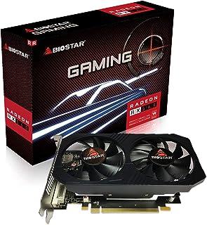 Biostar Gaming Radeon RX 560 4GB GDDR5 128-Bit DirectX 12 PCI Express 3.0 DVI-D Dual Link, HDMI, DisplayPort and Vortex Du...
