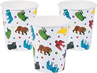 Party Supplies Print Tableware Birthday Print Cups Fun Express 8 Pieces 1st Bear 9oz Cups for Birthday