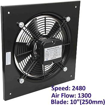 Ventilador industrial axial para edificio comercial. Extractor de ...