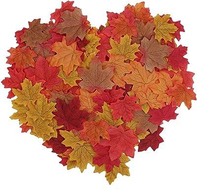 230cm Ahornblatt Künstlich Ahorn Laub Herbst Blätter Girlande Garten