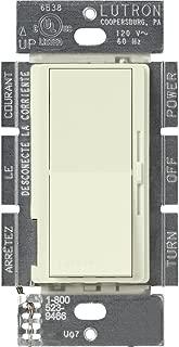 Lutron DVSCLV-603P-BI Diva Magnetic Low-Voltage Dimmer, Biscuit