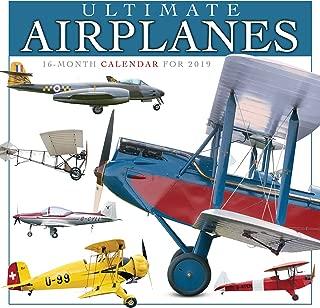Ultimate Airplanes 2019 Wall Calendar