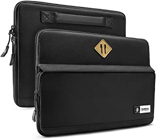 tomtoc Laptop Sleeve Tablet Bag for 13-inch New MacBook Air with Retina Display A1932, 13 Inch MacBook Pro Late 2016-2019 (A2159 A1989 A1706 A1708), Surface Pro 6 5 4 3, 12.9 Inch New iPad Pro 2018