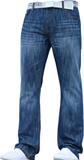Smith & Jones Mens Designer Bootcut Fit Denim Jeans Trousers In All Waist And Leg Sizes