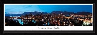 Vancouver, British Columbia as Viewed from False Creek- Blakeway Panoramas Print with Select Frame & Mat