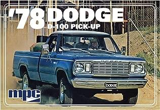 MPC901 1978 Dodge Pickup Truck Model Car Kit with Minibike