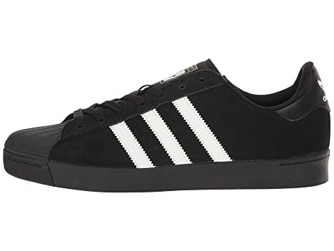 adidas Superstar Vulc ADV White Black Skateboarding
