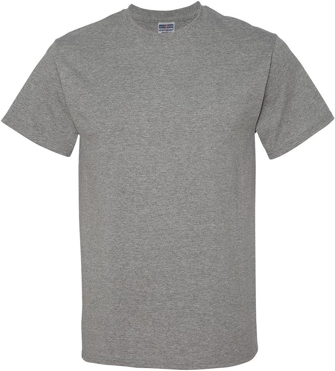 Jerzees mens Tall 5.6 oz. 50/50 Heavyweight Blend T-Shirt(29MT)-OXFORD-2XLT