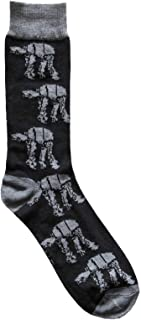 Hyp Star Wars AT-AT Walker Pattern Men's Crew Socks Shoe Size 6-12