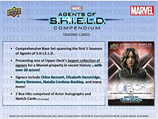 2019 Upper Deck Marvel Agents of SHIELD Hobby Box