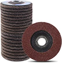 Coceca 20pcs Flap Discs Sanding Grinding Wheels 4-1 2 Inches for Angle Grinder, Type 27..