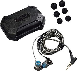 TISHITA in-ear sporthörlurar med mikrofon och inline-kontroll för