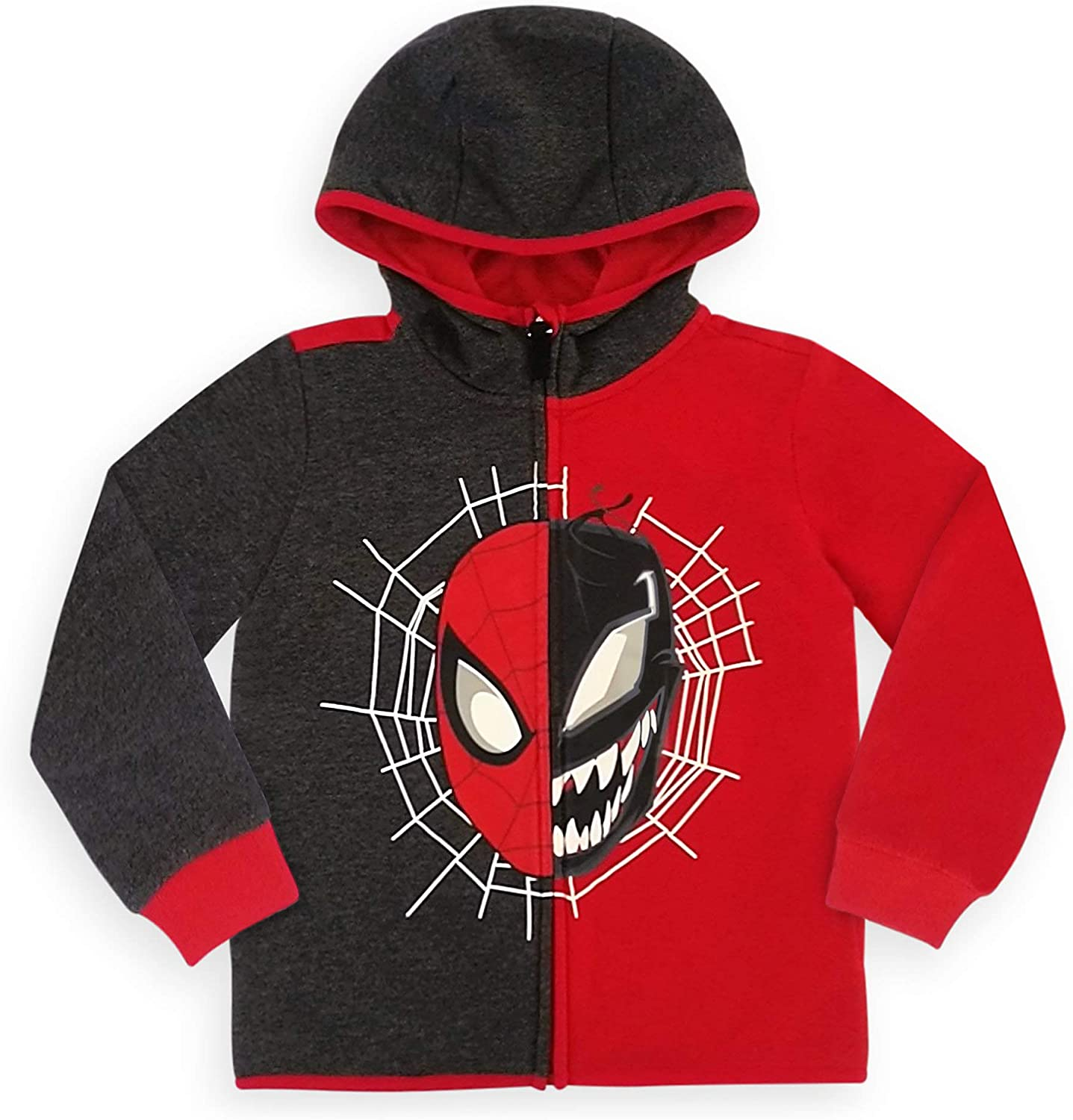 Marvel Spider-Man and Venom Clearance SALE Cheap bargain Limited time Hoodie for Boys Zip