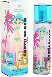 Passport South Beach by Paris Hilton for Women - 1 oz EDT Spray.