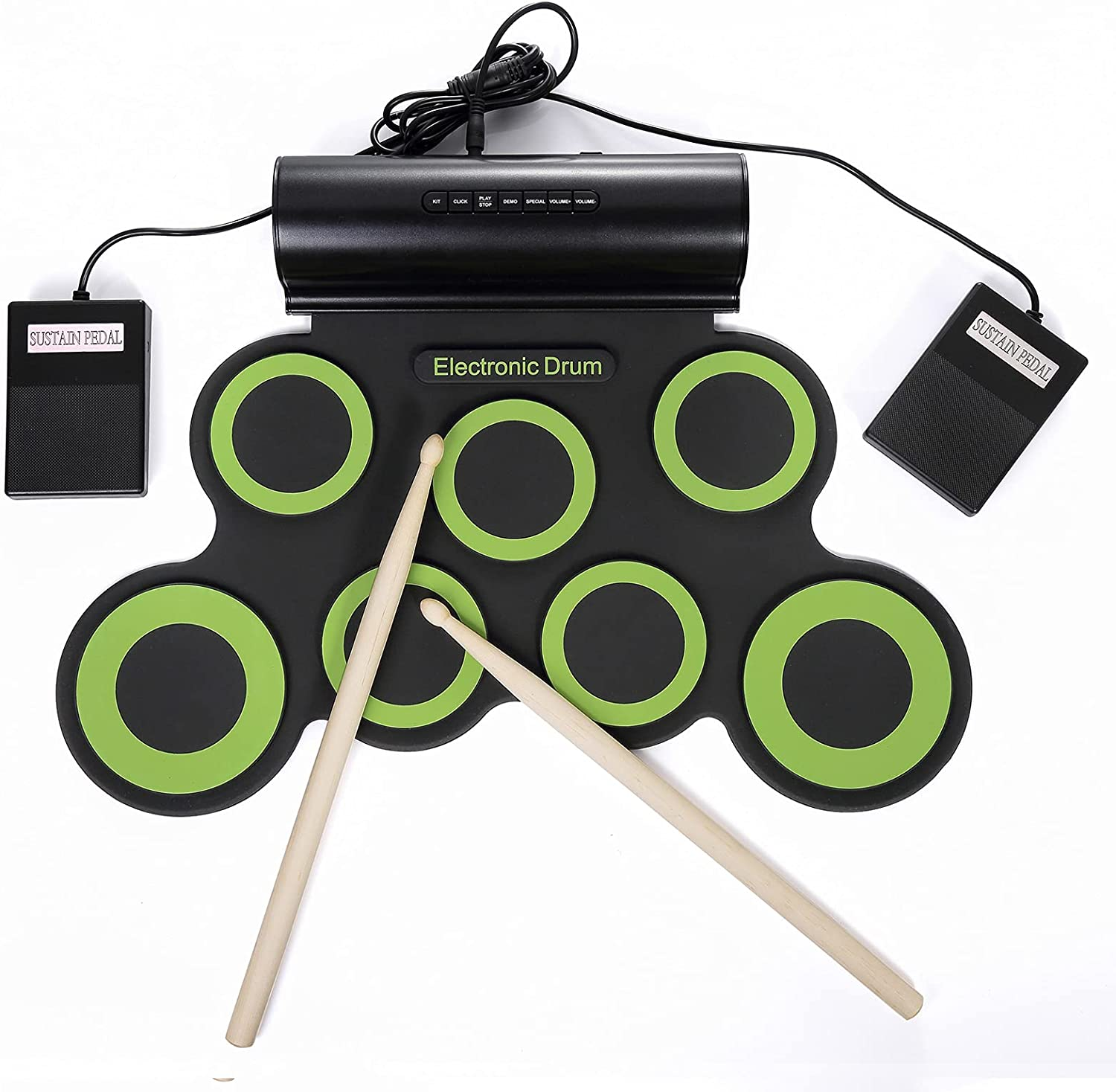 Electronic quality assurance Drum Set Rechargeable Elec At the price Multi-Functional Portable