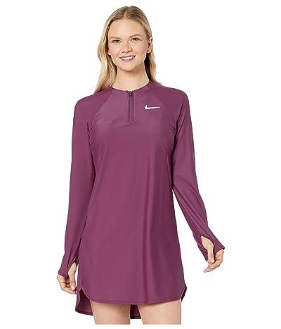 Nike Long Sleeve Swim Tunic Cover-Up (Villain Red) Women