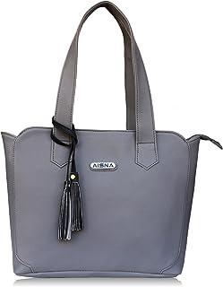 Aisna women grey Handbag (ASN-051) (grey)