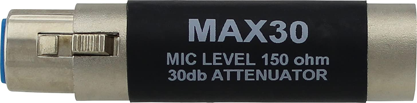 Pro Co Sound MAX30 Inline Pad 30dB