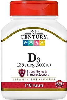 Vitamin D-5000 Super Strength 5000 Iu 110 Tabs