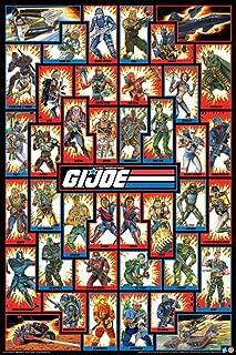 GI Joe Cast Poster 24 x 36in