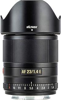 VILTROX 23mm F1.4 E Auto Focus APS-C Prime Lens for Sony E-Mount Camera A6500 A6300 A6000 A7RⅣ A7RⅢ A7Ⅲ A7RⅡ A7Ⅱ A7S A7R