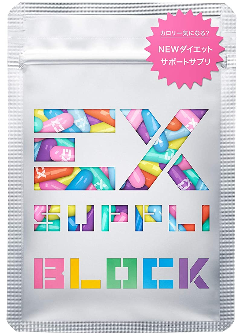 普通にロボット先史時代のEX SUPPLI BLOCK カロリーサポートサプリ 20粒【5日分】(ダイエット エクスサプリ EXSUPPLI EXILE サプリ)