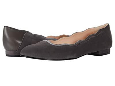 French Sole Gambler (Grey Suede/Nappa) Women