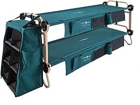 Disc-O-Bed Large Cam-O-Bunk Cot + 3-Shelf Cabinet