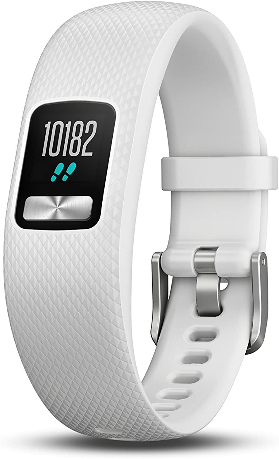 Garmin vívofit 4 Activity Tracker with 1+ Year Battery Life and color Display. Small Medium, White. 0100184701