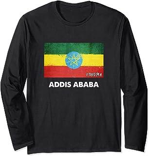 Addis Abeba Etiopia Maglia a Manica