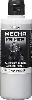"(Grey Primer) - Vallejo 200 ml ""AV Mecha Colour"" Acrylic Airbrush Colour - Grey Primer"
