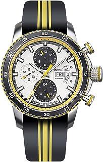 インガーソル 腕時計 自動巻き フルカレンダー 替えレザーベルト付き 44mm 10ATM IN1717YL [並行輸入品]
