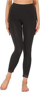 Koly/_Moda Primavera Autunno Donne Leg Triangolo Laterale Lace Leggings