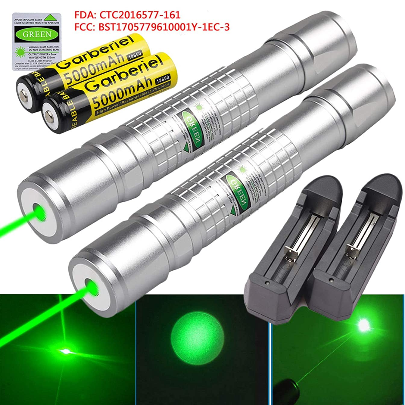 Tactical Hunting Rifle Scope Sight Laser Pen, Demo Remote Pen Pointer Projector Travel Outdoor Flashlight, LED Interactive Baton Funny Laser Toy
